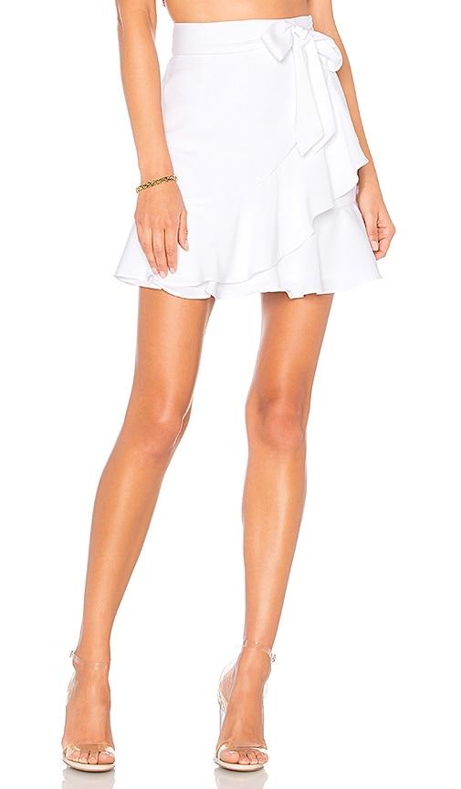 Patricia Ruffle Wrap Skirt