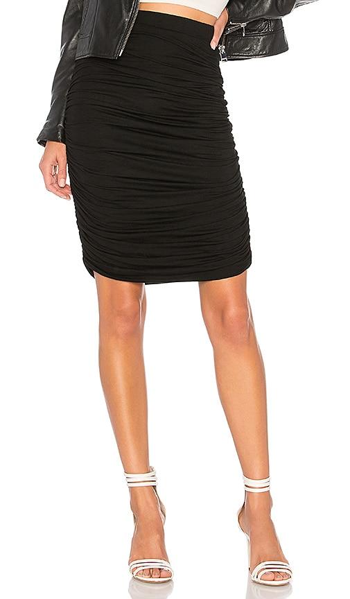 Tatiana Ruched Midi Skirt
