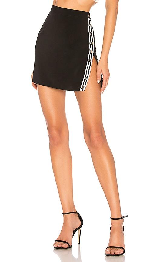 Abi Snap Button Mini Skirt