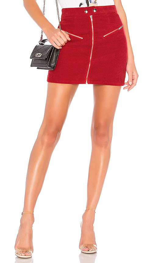 Malika Corduroy Mini Skirt