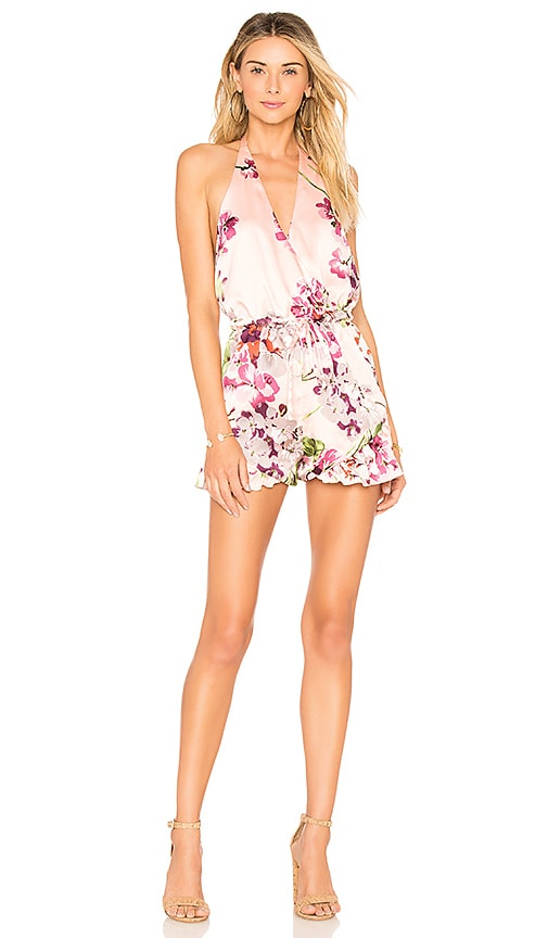 31077e7627 by the way. Abigail Ruffle Romper in Pink Floral | REVOLVE