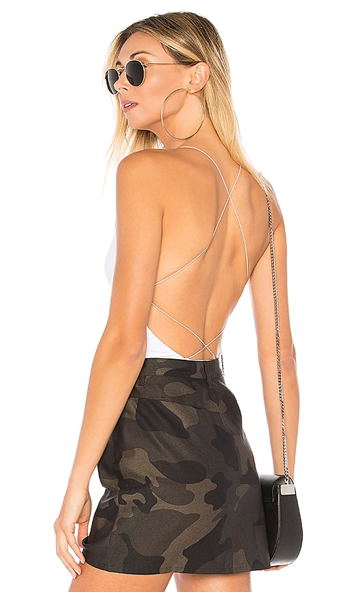 Allison Strappy Back Bodysuit