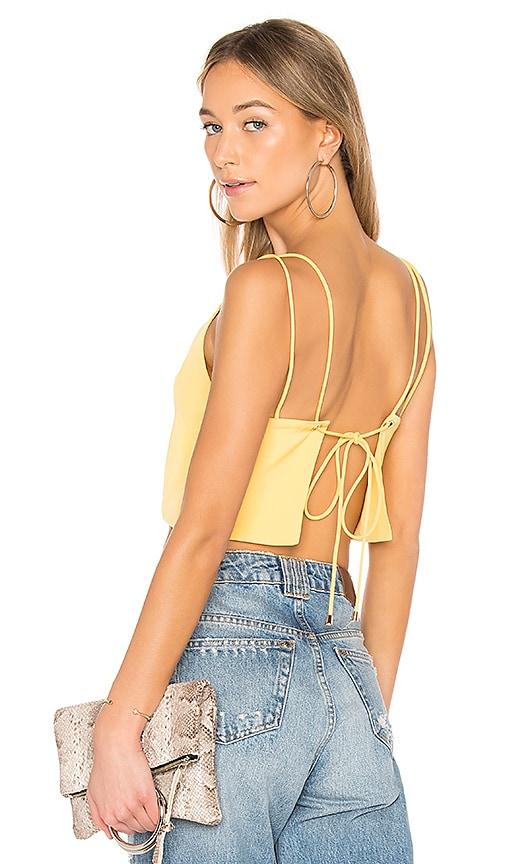 Caroline Backless Crop Top