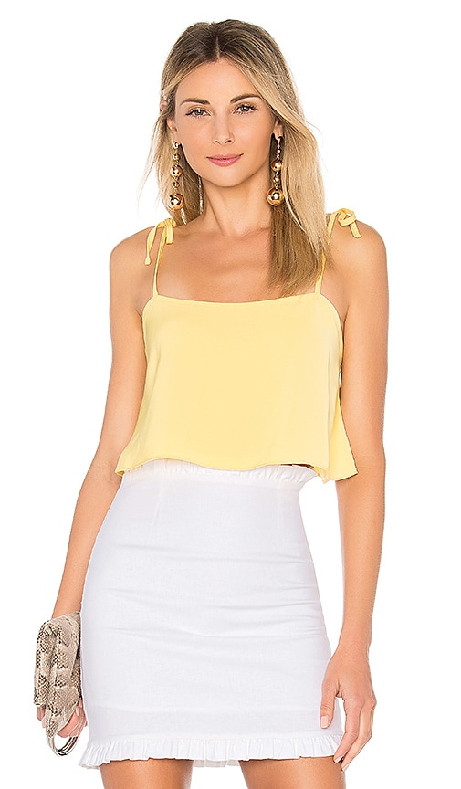 by the way. Melody Tie Cami Top in Yellow