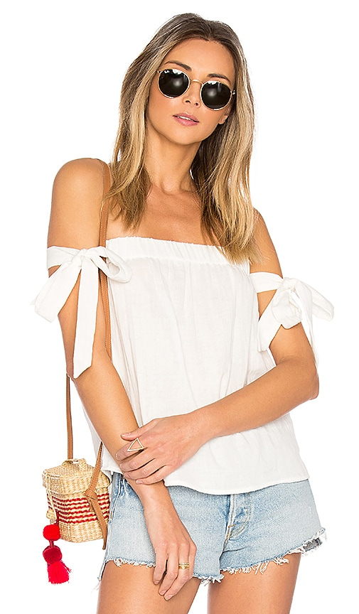 by the way. Ora Off Shoulder Top in White