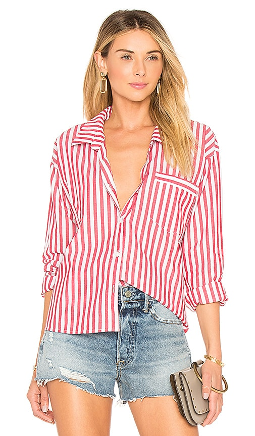 Kelly Striped Button Up