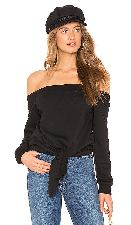 Ariel Tie Front Sweatshirt