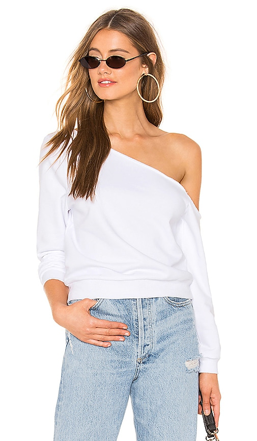 Rebecca Off Shoulder Sweatshirt