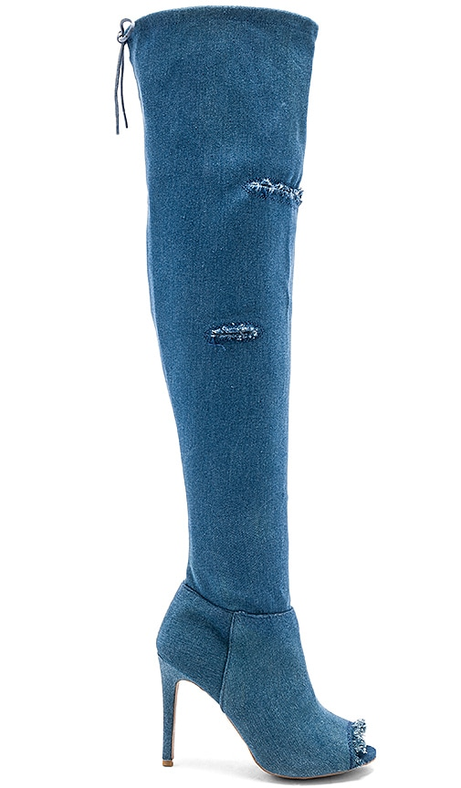 by the way. Nikki Boot in Blue