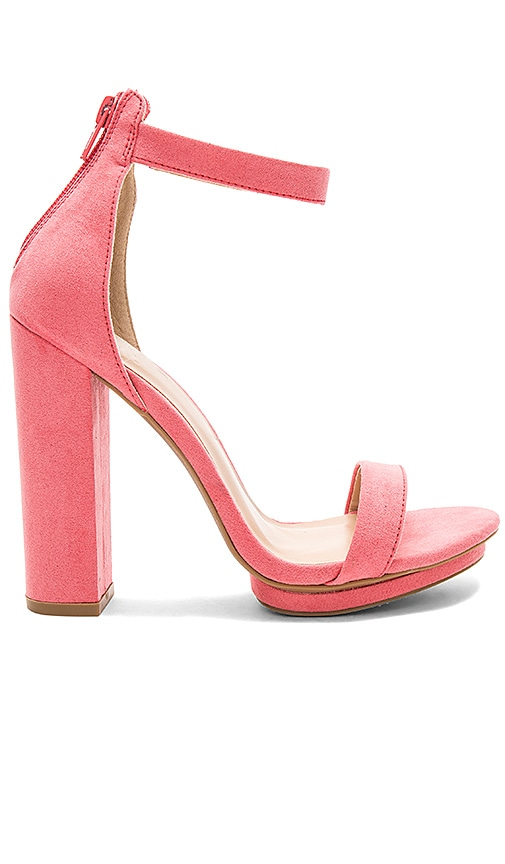 by the way. Jamie Heel in Coral