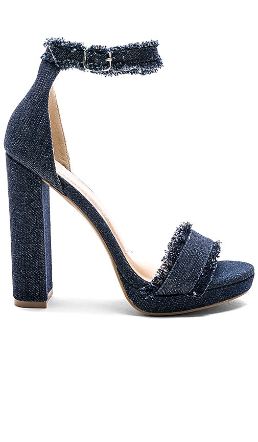 by the way. Ruby Heel in Navy