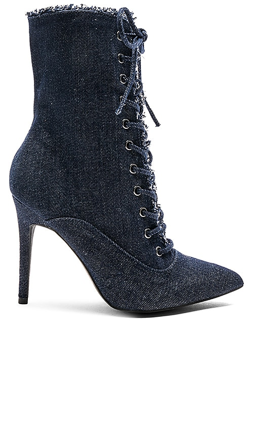 by the way. Natalie Bootie in Navy