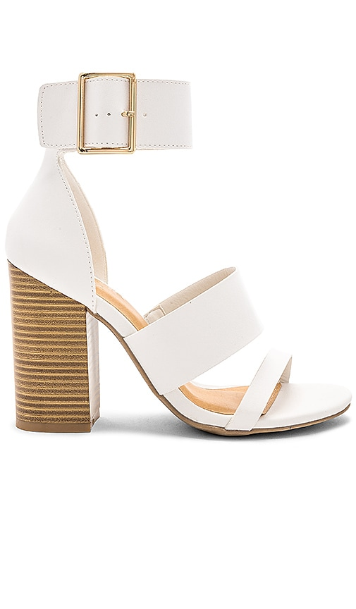 by the way. Melissa Heel in White