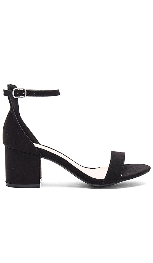 by the way. Angie Sandals in Black