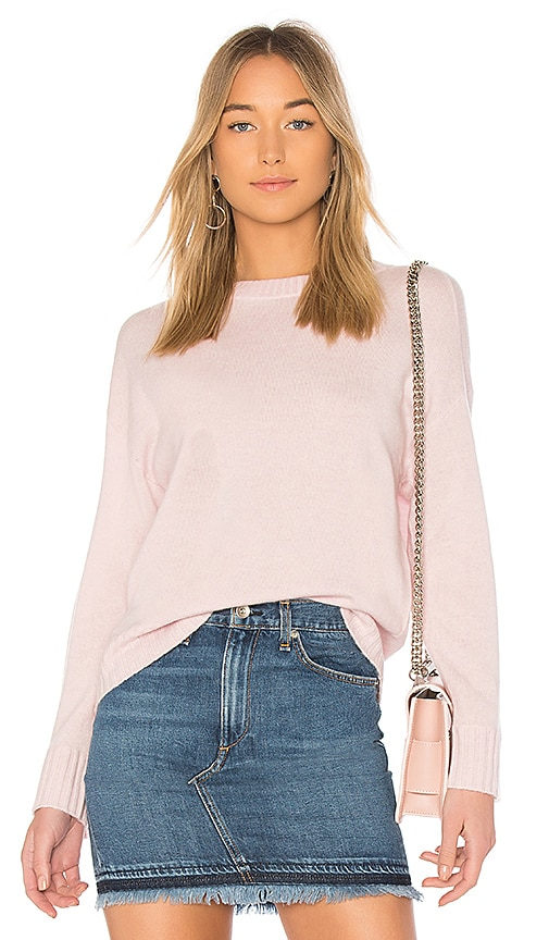BROWN ALLAN The Crop Sweater in Pink