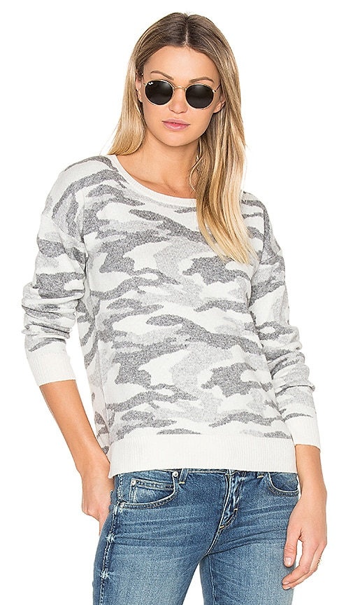 BROWN ALLAN Crew Neck Sweater in Gray