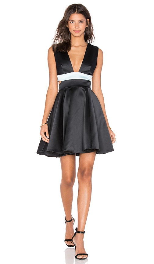 By Johnny Night Shine Kick Dress in Black
