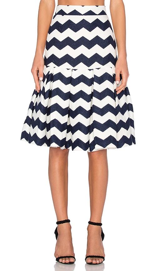 Zag Box Skirt
