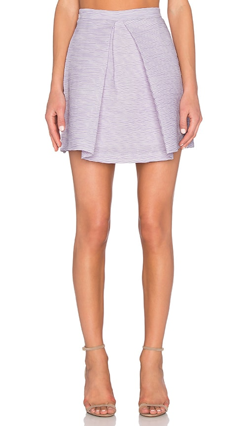 Lilac Shadow Mini Skirt