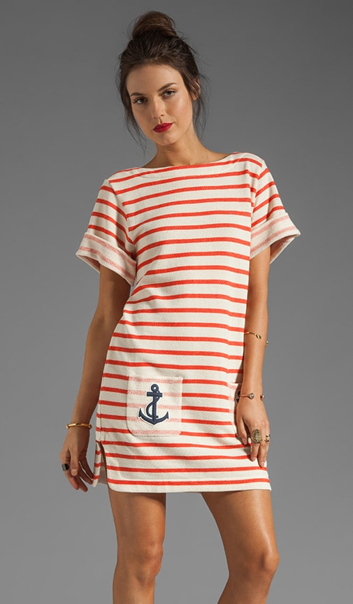 Riviera Stripe Awikio Dress