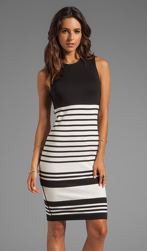 Wide Stripe Sello Dress