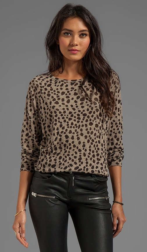 Spot On Olive Sweater