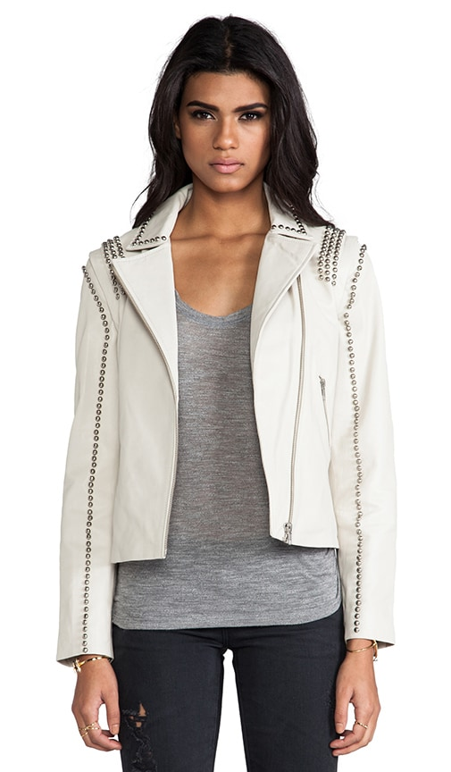 Luxurious Leather Naroa Jacket