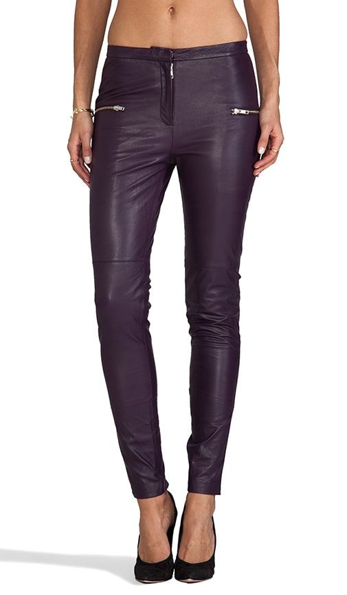 Luxurious Leather Bongani Pant