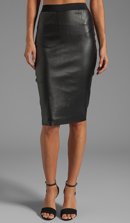 Funky Nappy Dolinas Leather Skirt