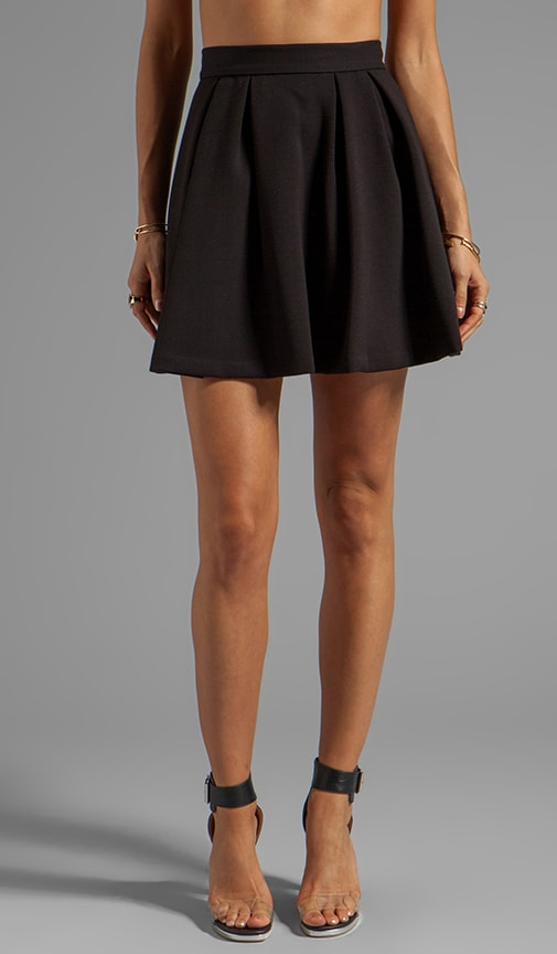 Winter Crepe Polinia Skirt