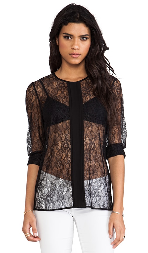 Lace Deluxe Frame Blouse