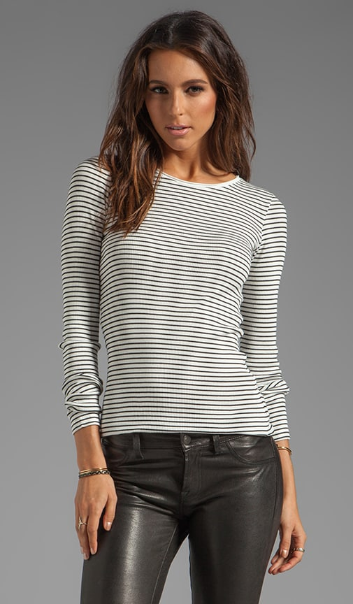 Striped Sailor Rib Franca Top