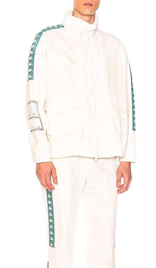 C2H4 x Kappa M65 Jacket in Ivory
