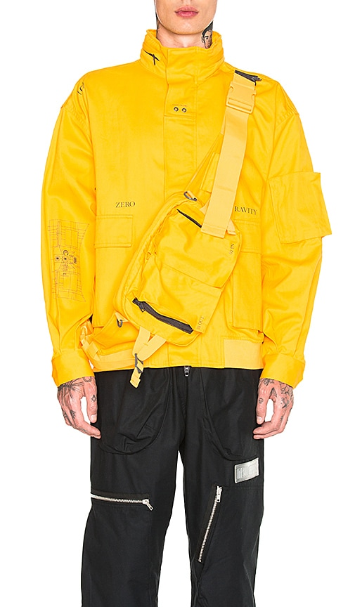 C2H4 Utility M-65 Jacket in Yellow