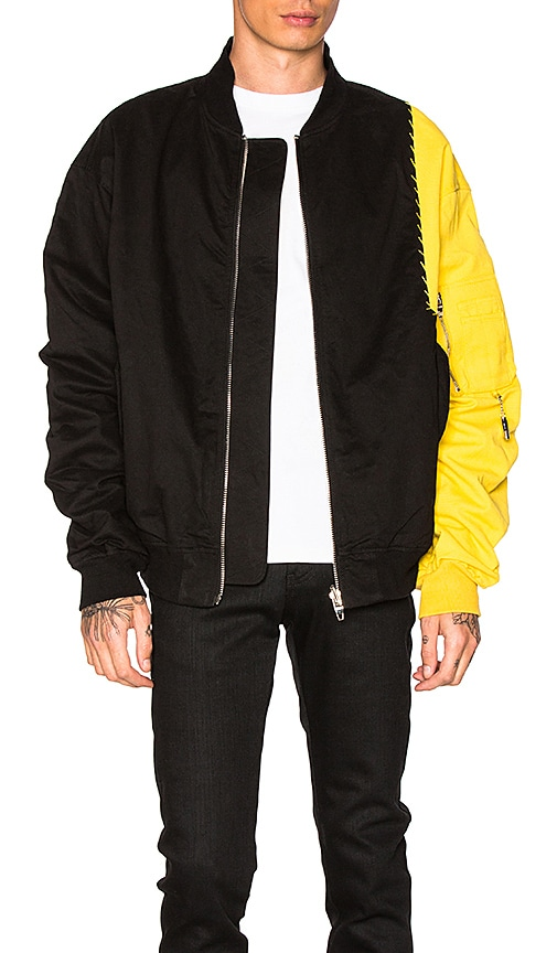 C2H4 Reassembled MA-1 Jacket in Black