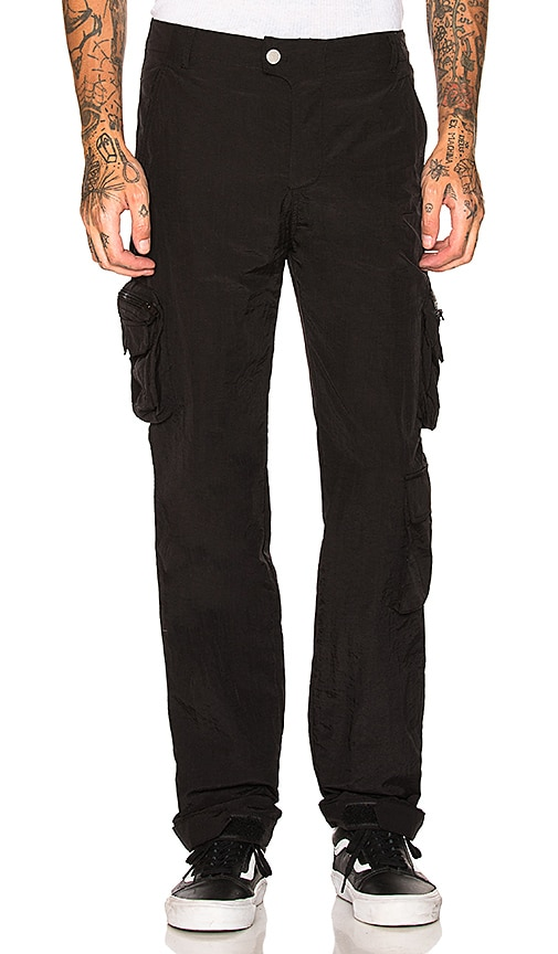 C2H4 Laboratory Multi-Pocket Pants in Black