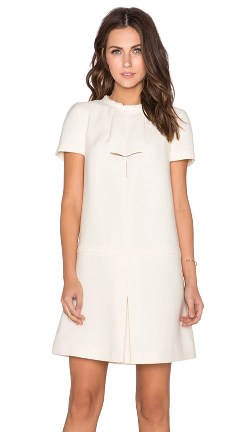 cacharel Sixties Dress in Ivory