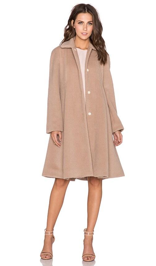 Flared Raglan Coat