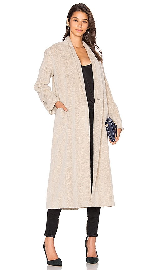 cacharel Car Coat in Beige
