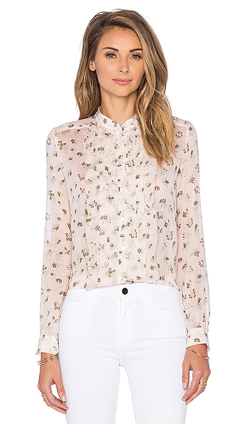 cacharel Blouse in Petal Floral