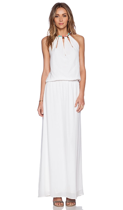 Caffe Maxi Dress in White