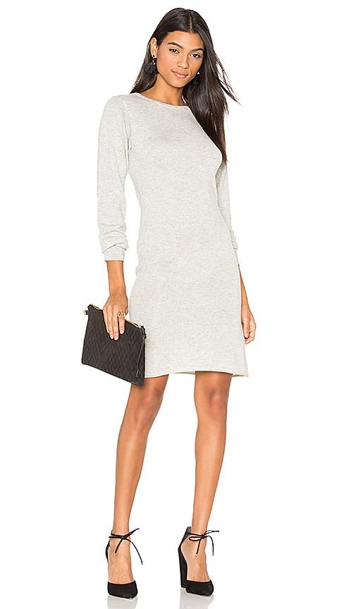 Callahan Sweater Dress in Gray