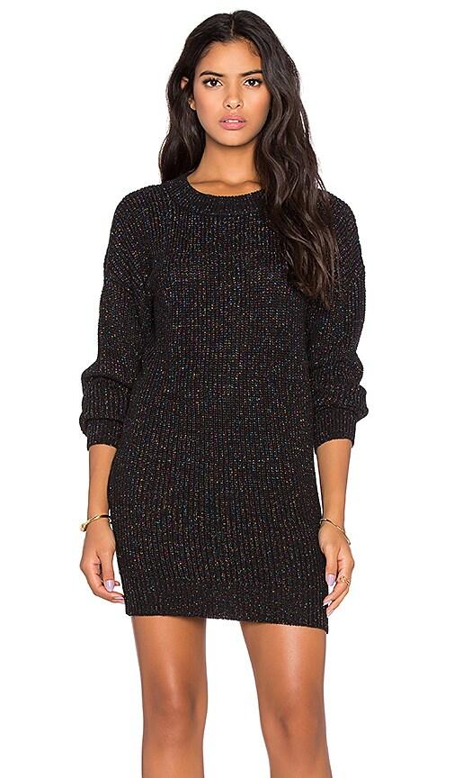 Sparkle Crewneck Sweater Dress