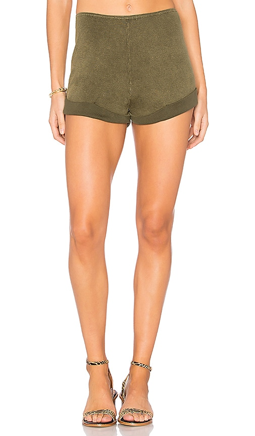 Callahan Enzyme Shortie Short in Army