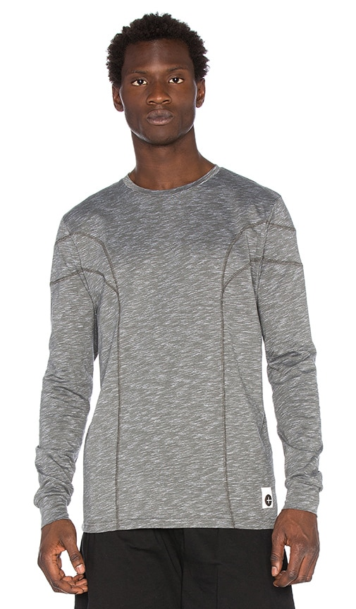 Cahill+ Long Sleeve Tee in Gray