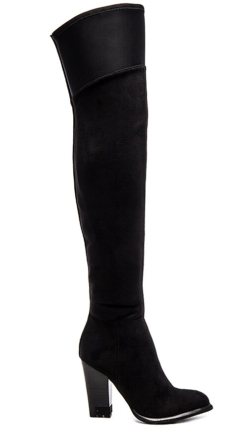 Calvin Klein Jeans Charli Boot in Black Suede