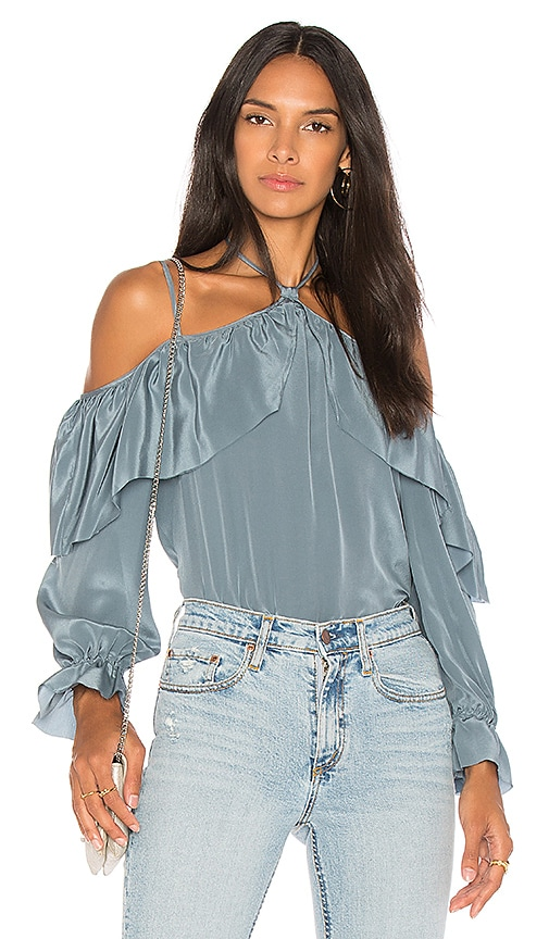 Calvin Rucker Take Your Time Blouse in Blue