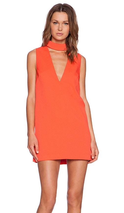 C/MEO Say It Right Dress in Tangerine