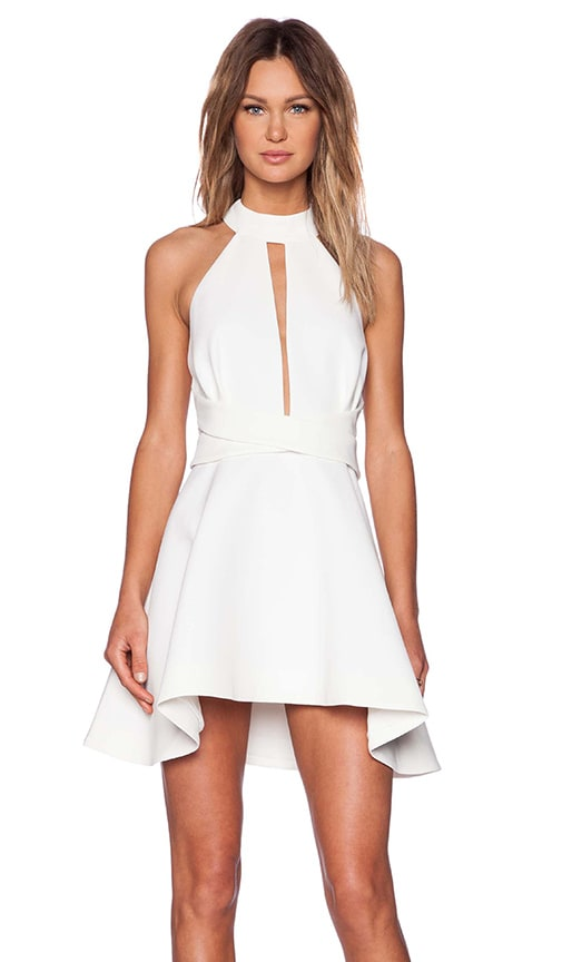 C/MEO Breaking Hearts Dress in Ivory