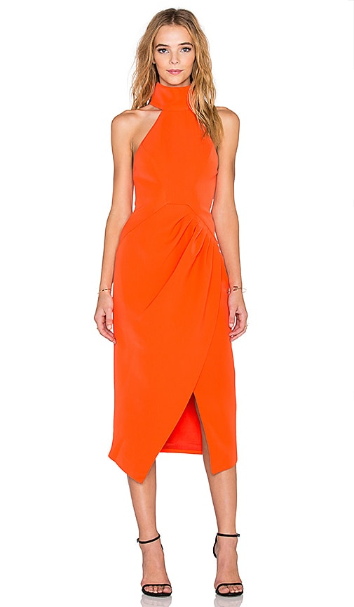C/MEO Kiss Land Dress in Orange